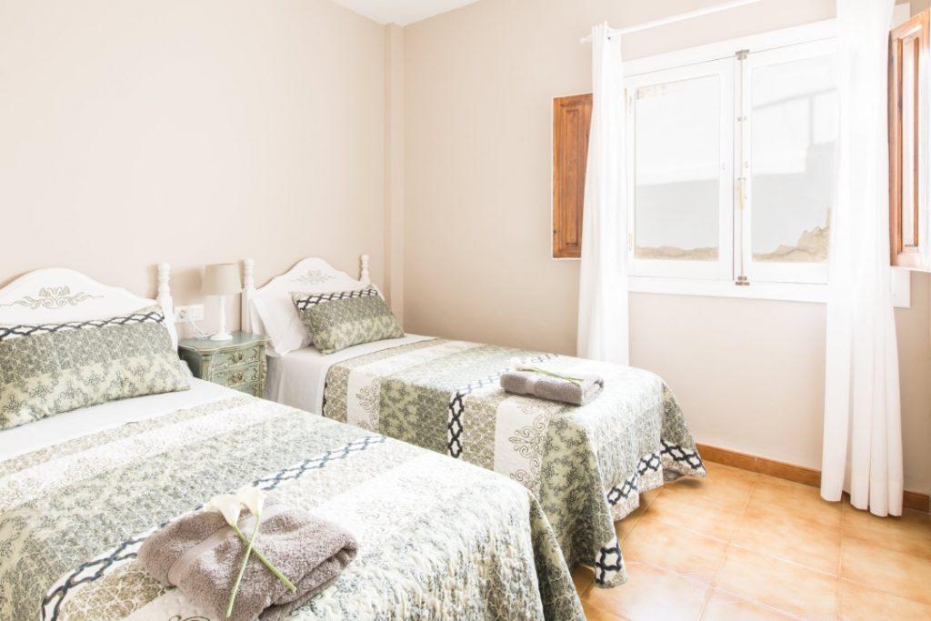 Habitación doble individual