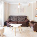 sofa del salon comedor de Ca'n tosca